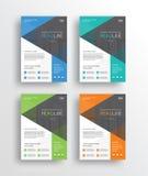 ιπτάμενο το /brochure/poster/ επιχειρησιακού μάρκετινγκ και πρότυπο σχεδίου εκθέσεων Στοκ Εικόνες