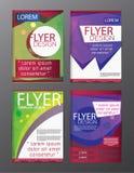 Ιπτάμενο φυλλάδιων πολυγώνων, σχέδιο προτύπων φυλλάδιων κάλυψης περιοδικών Στοκ φωτογραφία με δικαίωμα ελεύθερης χρήσης