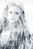 Διπλή γυναίκα έκθεσης Στοκ Εικόνα