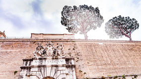 διπλή σκάλα Βατικανό της Ρώμης μουσείων της Ιταλίας ελίκων Στοκ εικόνες με δικαίωμα ελεύθερης χρήσης