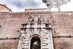 διπλή σκάλα Βατικανό της Ρώμης μουσείων της Ιταλίας ελίκων Στοκ Εικόνες