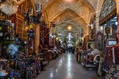 Ιρανικός bazar στη Shiraz Στοκ Φωτογραφίες