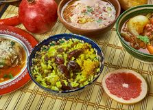 Ιρανικό Adas Polow στοκ εικόνες με δικαίωμα ελεύθερης χρήσης
