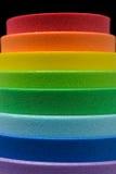 Ιριδίζοντα χρώματα του κυψελοειδούς λάστιχου στοκ εικόνες