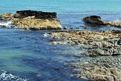 ιρλανδική θάλασσα βράχων Στοκ φωτογραφίες με δικαίωμα ελεύθερης χρήσης