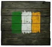 Ιρλανδική σημαία Στοκ Φωτογραφίες