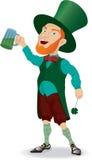 ιρλανδικό άτομο μπύρας Διανυσματική απεικόνιση