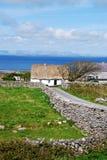 Ιρλανδικό εξοχικό σπίτι Στοκ Εικόνες