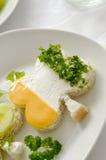 ιρλανδικό σάντουιτς τριφυλλιού Στοκ Φωτογραφίες