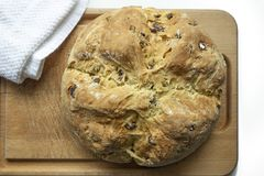 Ιρλανδικό ψωμί σόδας Στοκ Εικόνες