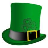 ιρλανδικό leprechaun patricks ST καπέλων ημέρ& απεικόνιση αποθεμάτων