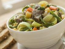 ιρλανδικό stew σόδας ψωμιού κύπελλων Στοκ Εικόνα