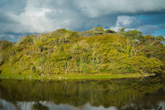 Ιρλανδική αντανάκλαση βουνοπλαγιών Στοκ Εικόνες