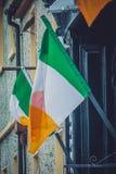Ιρλανδική εθνική σημαία Στοκ εικόνες με δικαίωμα ελεύθερης χρήσης