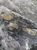 Ιρλανδικοί παράκτιοι βράχοι Στοκ Φωτογραφία