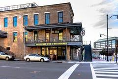 Ιρλανδικό αναπαραγμένο μπαρ Μοντγκόμερυ Στοκ Εικόνα