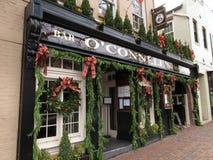 Ιρλανδικό εστιατόριο Ο ` Connell ` s Στοκ Εικόνα