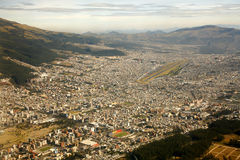 Ισημερινός Κουίτο Στοκ Φωτογραφία