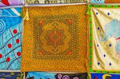 Ισλαμικά σχέδια στο pillowslip, Antalya Στοκ Εικόνα