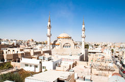 ισλαμικό μουσουλμανικό τέμενος madaba της Ιορδανίας στοκ φωτογραφίες