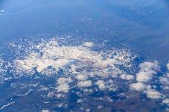 Ισλανδία από τον αέρα Στοκ Εικόνες