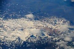 Ισλανδία από τον αέρα Στοκ φωτογραφίες με δικαίωμα ελεύθερης χρήσης
