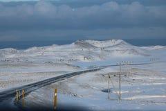 Ισλανδία, τρόπος σε Olafsvik Στοκ Εικόνα