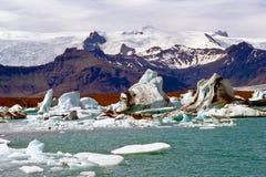 Ισλανδία jokulsarlon Στοκ εικόνες με δικαίωμα ελεύθερης χρήσης