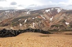 Ισλανδία landmannalaugar Στοκ φωτογραφία με δικαίωμα ελεύθερης χρήσης