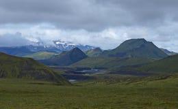 Ισλανδία laugavegur στοκ εικόνα