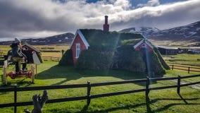 Ισλανδικό σπίτι Στοκ Εικόνες
