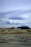 ισλανδικό τοπίο ηφαιστε&io Στοκ Εικόνα
