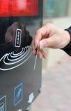 ισξυρό κτύπημα καρτών Στοκ Φωτογραφία