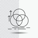ισορροπία, κύκλος, ευθυγράμμιση, μέτρηση, εικονίδιο γραμμών γεωμετρίας στο διαφανές υπόβαθρο Μαύρη διανυσματική απεικόνιση εικονι ελεύθερη απεικόνιση δικαιώματος