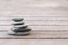 Ισορροπία πετρών χαλικιών Στοκ Φωτογραφίες