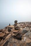 Ισορροπημένες πέτρες Στοκ Φωτογραφίες
