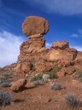 ισορροπημένος βράχος Στοκ Εικόνες