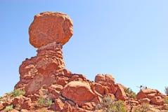 Ισορροπημένος βράχος Στοκ Φωτογραφία
