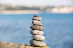 Ισορροπημένος σωρός πετρών Στοκ Εικόνες