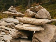 ισορροπώντας βράχοι Στοκ Εικόνα