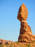 ισορροπώντας βράχος Στοκ Εικόνα