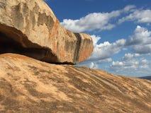 Ισορροπώντας βράχος Domboshava Στοκ εικόνες με δικαίωμα ελεύθερης χρήσης