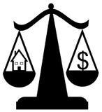 ισορροπώντας κατοικία δ&a ελεύθερη απεικόνιση δικαιώματος