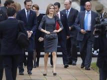 Ισπανία βασίλισσα Letizia 007 Στοκ εικόνες με δικαίωμα ελεύθερης χρήσης