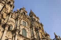 Ισπανία, Γαλικία, Σαντιάγο de Compostela, καθεδρικός ναός στοκ εικόνες με δικαίωμα ελεύθερης χρήσης