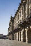 Ισπανία, Γαλικία, Σαντιάγο de Compostela, τετράγωνο καθεδρικών ναών, πόλη Γ στοκ φωτογραφία με δικαίωμα ελεύθερης χρήσης