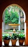 Ισπανία Γρανάδα Alhambra Generalife (2) Στοκ Εικόνες