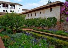 Ισπανία Γρανάδα Alhambra Generalife (13) Στοκ Φωτογραφίες