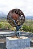 Ισπανία, Κανάρια νησιά, γλυπτό ατλάντων Tenerife στοκ εικόνα