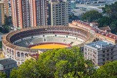 Ισπανία, Μάλαγα plaza de toros Στοκ Εικόνες